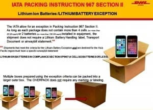 LIthium battery packing