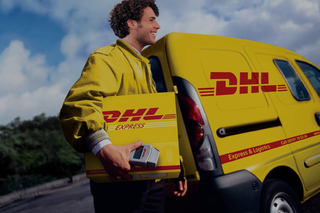 How do I schedule a pick up with DHL for my shipment
